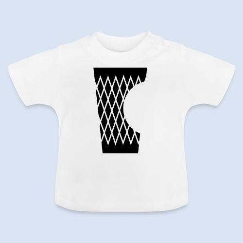 DAS GERIPPTE - Glas mit Biss #Frankfurt #Bembeltown - Baby T-Shirt