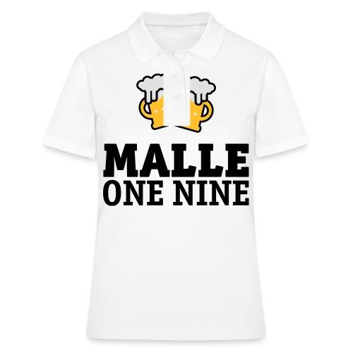 Malle 19-en nio T-shirts - Frauen Polo Shirt