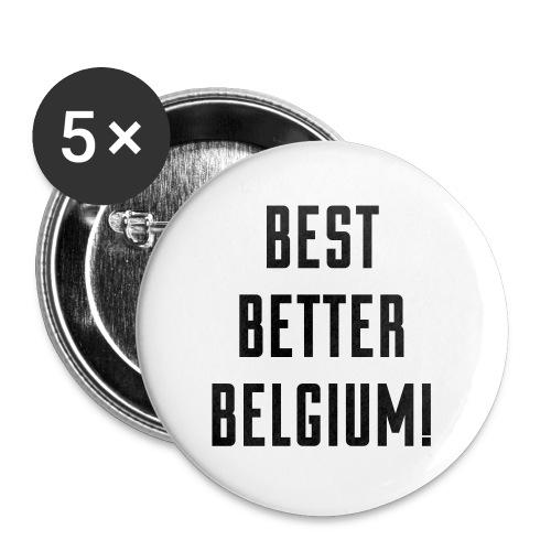 best better belgium België - Badge grand 56 mm