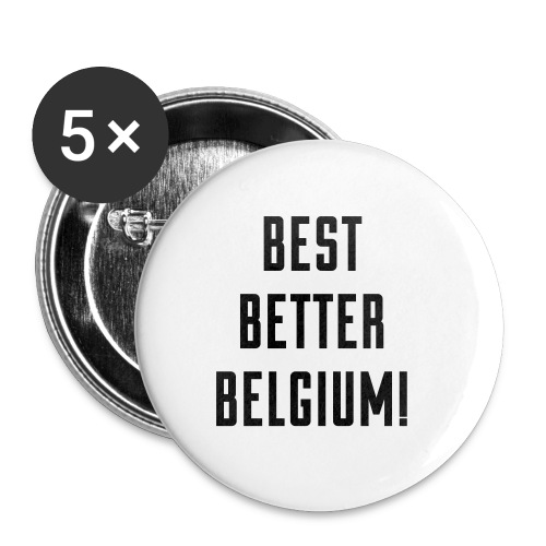 best better belgium België - Badge moyen 32 mm