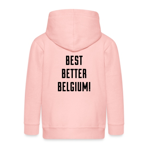 best better belgium België - Veste à capuche Premium Enfant