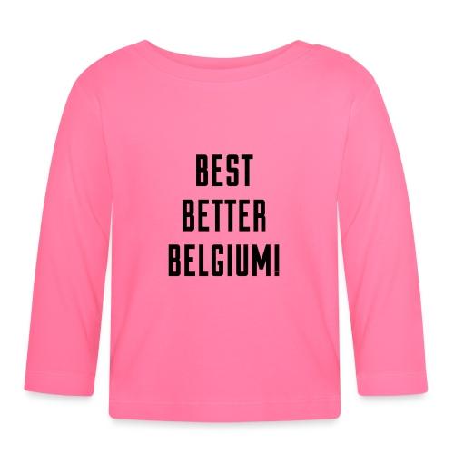 best better belgium België - T-shirt manches longues Bébé