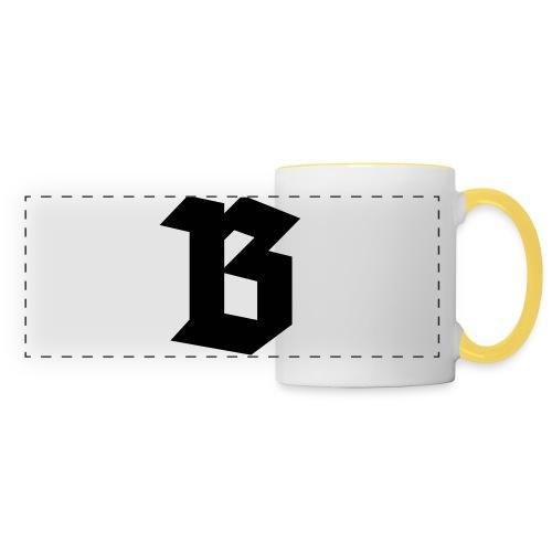 B van België - Belgium - Mug panoramique contrasté et blanc