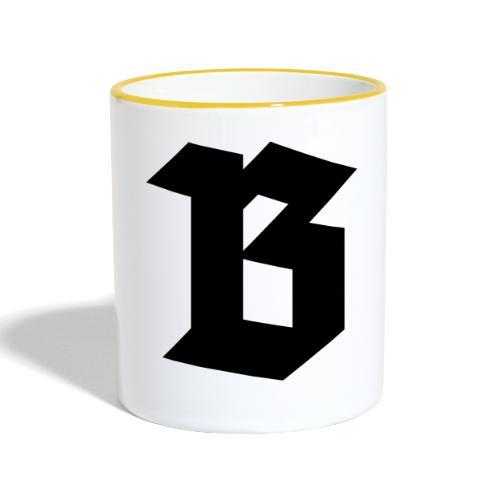 B van België - Belgium - Mug contrasté