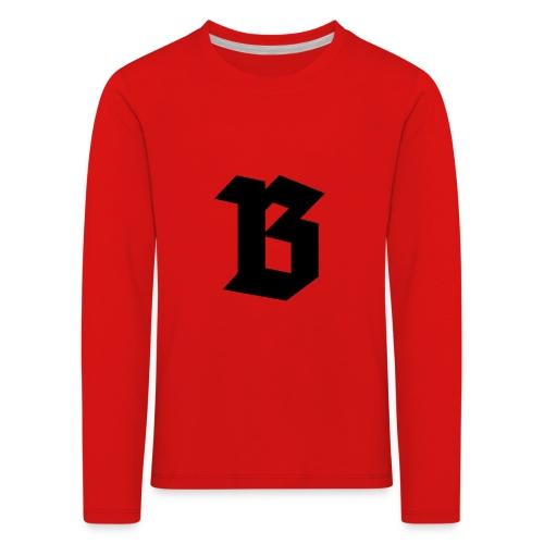 B van België - Belgium - T-shirt manches longues Premium Enfant