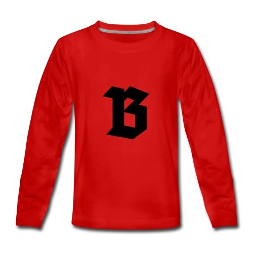 B van België - Belgium - T-shirt manches longues Premium Ado