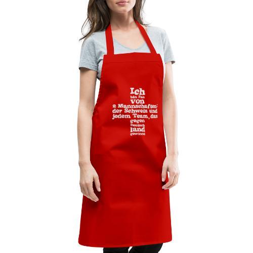 Herren T-Shirt  |  Fan von zwei Mannschaften - Kochschürze