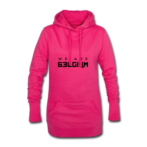 We Are Belgium, België - Sweat-shirt à capuche long Femme