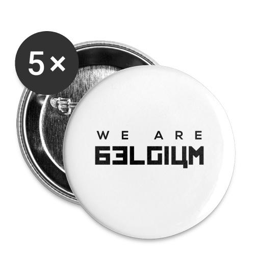 We Are Belgium, België - Badge grand 56 mm