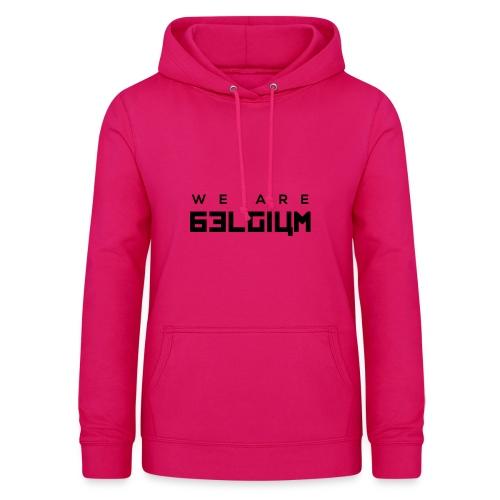 We Are Belgium, België - Sweat à capuche Femme
