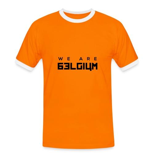We Are Belgium, België - T-shirt contrasté Homme