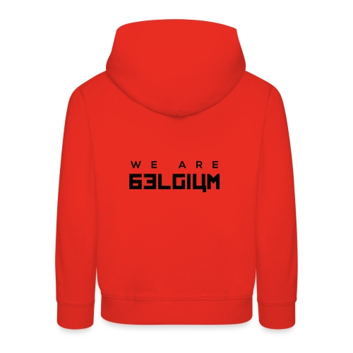 We Are Belgium, België - Pull à capuche Premium Enfant