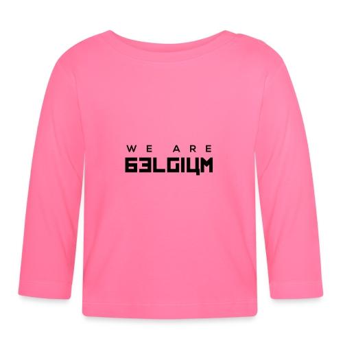 We Are Belgium, België - T-shirt manches longues Bébé