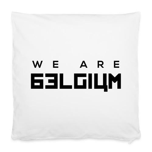 We Are Belgium, België - Housse de coussin 40 x 40 cm