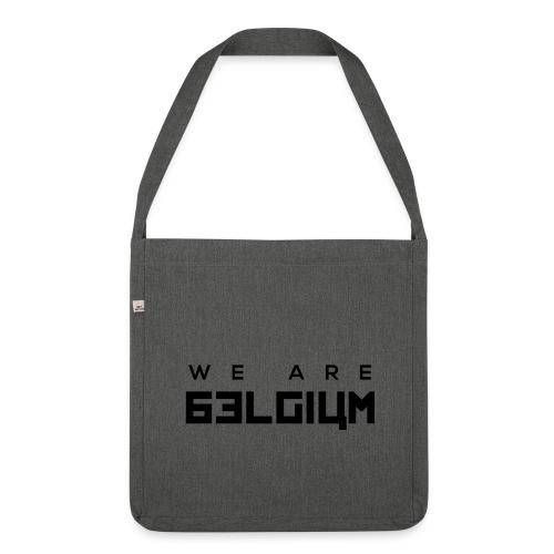 We Are Belgium, België - Sac bandoulière 100 % recyclé