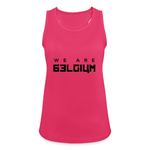 We Are Belgium, België - Débardeur respirant Femme