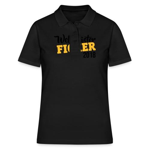 Lustig Weltmeister Und Ficker 2018 Sportbekleidung - Frauen Polo Shirt