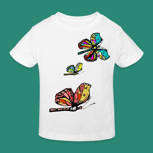 Frauen T- Shirt Schmetterlinge - Kinder Bio-T-Shirt