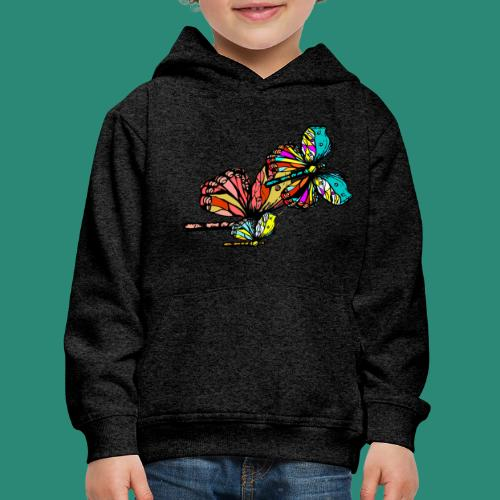 Frauen T- Shirt Schmetterlinge - Kinder Premium Hoodie
