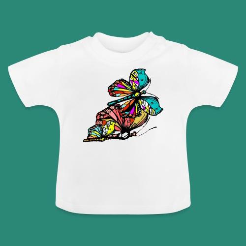 Frauen T- Shirt Schmetterlinge - Baby T-Shirt