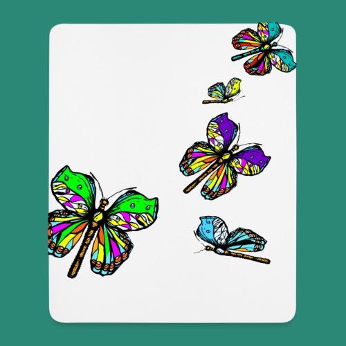 Schmetterlinge,Butterflies, T-shirt, - Mousepad (Hochformat)