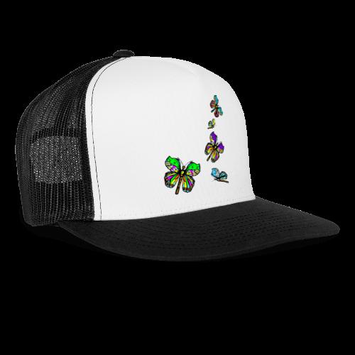 Schmetterlinge,Butterflies, T-shirt, - Trucker Cap