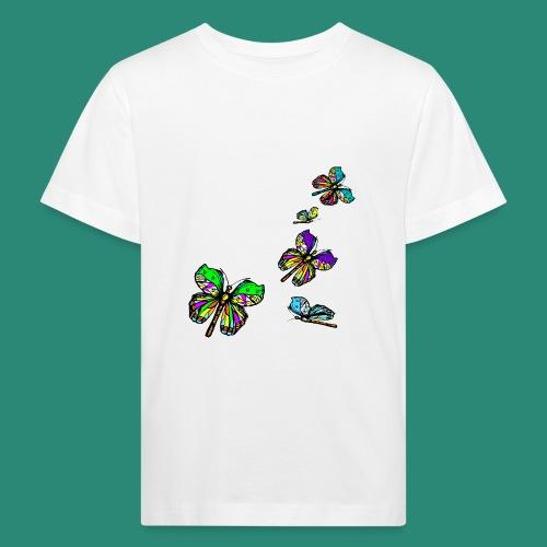 Schmetterlinge,Butterflies, T-shirt, - Kinder Bio-T-Shirt
