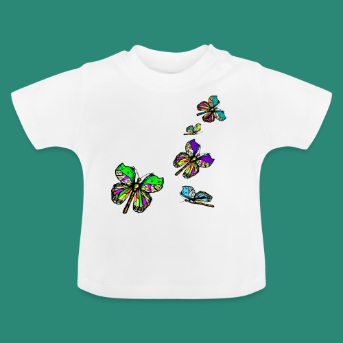 Schmetterlinge,Butterflies, T-shirt, - Baby T-Shirt