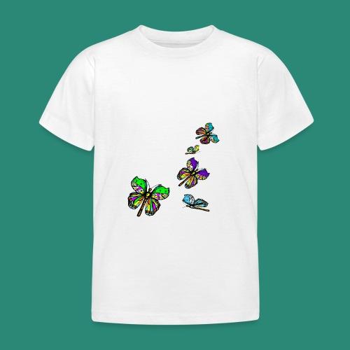 Schmetterlinge,Butterflies, T-shirt, - Kinder T-Shirt