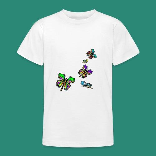 Schmetterlinge,Butterflies, T-shirt, - Teenager T-Shirt