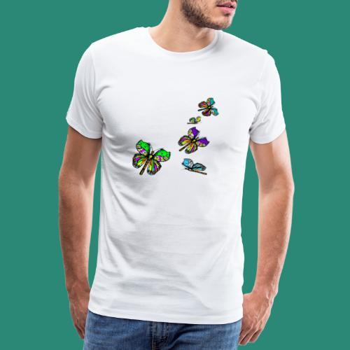Schmetterlinge,Butterflies, T-shirt, - Männer Premium T-Shirt