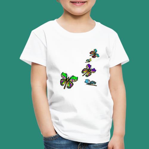 Schmetterlinge,Butterflies, T-shirt, - Kinder Premium T-Shirt