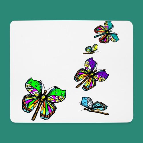 Schmetterlinge,Butterflies, T-shirt, - Mousepad (Querformat)