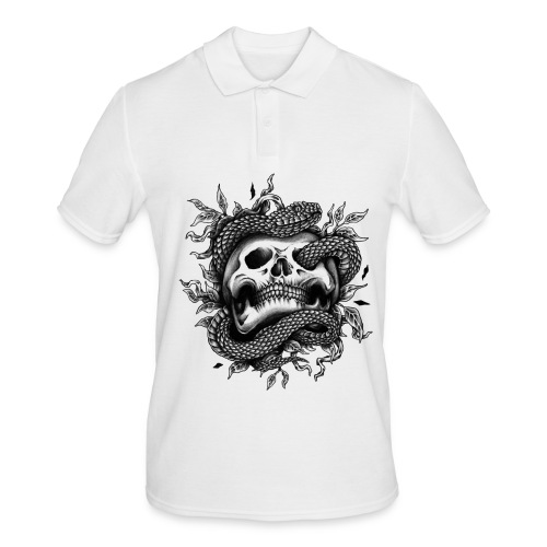 Skull Snake - Männer Poloshirt