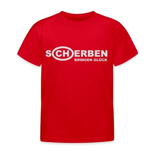 Scherben bringen Glück - Kinder T-Shirt