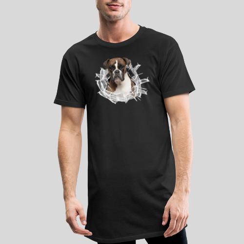 Boxer im Glas Loch - Männer Urban Longshirt