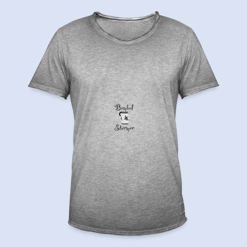 BEMBEL STÜRMER #Frankfurt #Bembeltown - Männer Vintage T-Shirt
