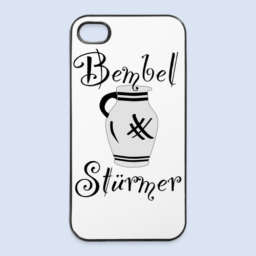 BEMBEL STÜRMER #Frankfurt #Bembeltown - iPhone 4/4s Hard Case