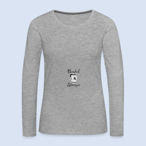 BEMBEL STÜRMER #Frankfurt #Bembeltown - Frauen Premium Langarmshirt