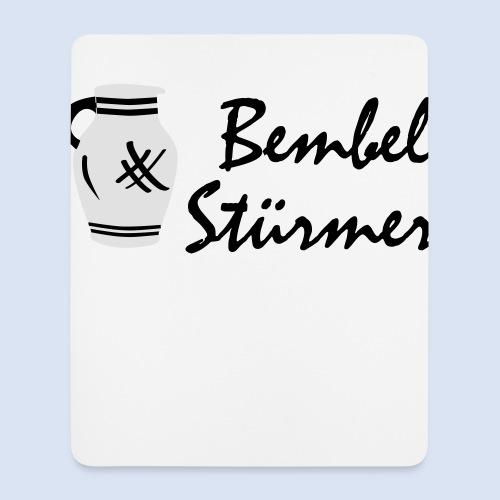 BEMBEL STÜRMER #Frankfurt #Bembeltown - Mousepad (Hochformat)