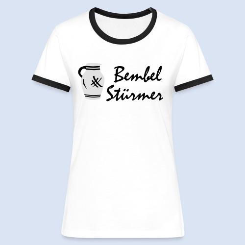 BEMBEL STÜRMER #Frankfurt #Bembeltown - Frauen Kontrast-T-Shirt