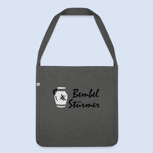 BEMBEL STÜRMER #Frankfurt #Bembeltown - Schultertasche aus Recycling-Material