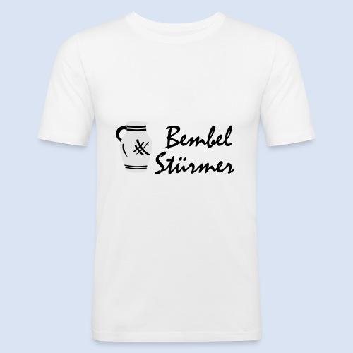 BEMBEL STÜRMER #Frankfurt #Bembeltown - Männer Slim Fit T-Shirt