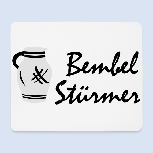 BEMBEL STÜRMER #Frankfurt #Bembeltown - Mousepad (Querformat)