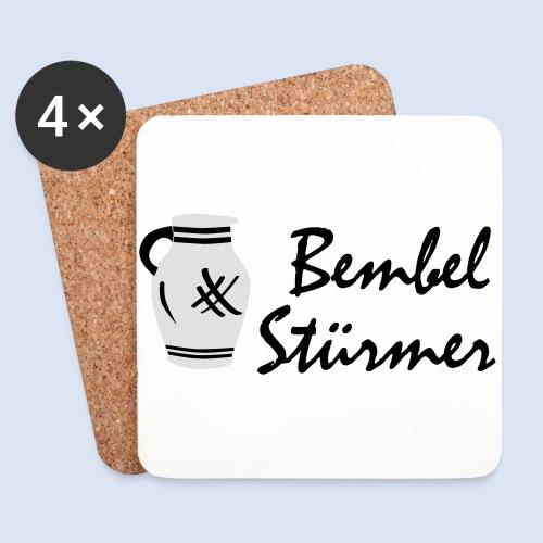BEMBEL STÜRMER #Frankfurt #Bembeltown - Untersetzer (4er-Set)