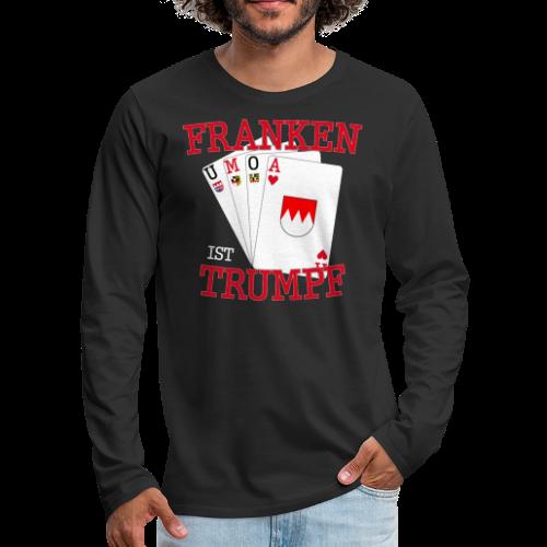 Franken Trumpf Spielkarten Karten As
