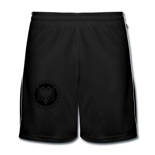 Männer T-Shirt Gold Albanien Schweiz - Männer Fußball-Shorts