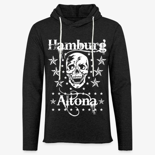 Hamburg Stadtteil Altona Skull Totenkopf 48 - Leichtes Kapuzensweatshirt Unisex