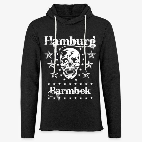 Hamburg Stadtteil Barmbek Skull Totenkopf T-Shirt 51 - Leichtes Kapuzensweatshirt Unisex