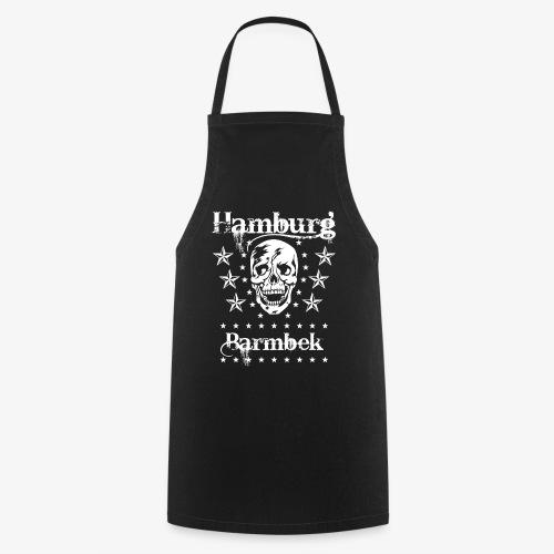 Hamburg Stadtteil Barmbek Skull Totenkopf T-Shirt 51 - Kochschürze